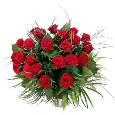 Bouquet 20 Red Roses Amaliada 3