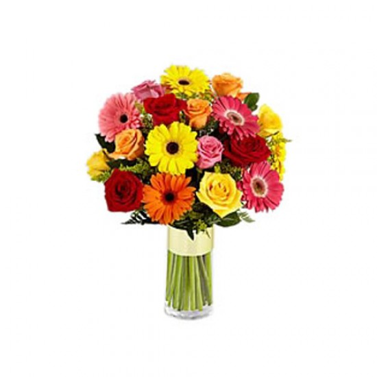 Bouquet with Roses and Zerberes Love 20