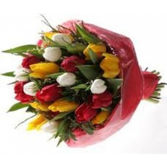 Bouquet with Toulips Love 9