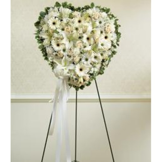 Flower Heart decoration for Funeral S10