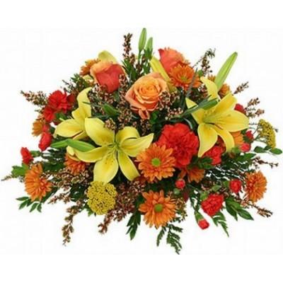 Flower Arrangement Happy Creating A4